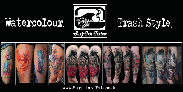 Tattoostudio Dortmund,Trash Polka Tattoo